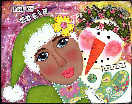 Feel the magic by Clover Moon Designs Peggy Sowers-Heckman