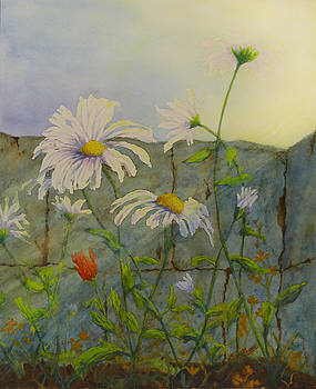 Feelin' Like a Different Daisy by Lisa Gibson Art
