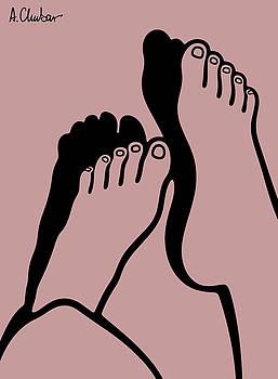 Feet 4 by Alexander Chubar