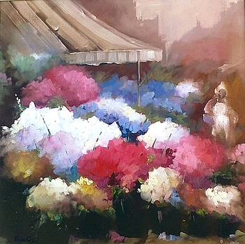 Feira de flores II by Fernanda Cruz