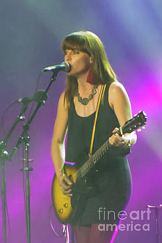 Feist at Canada Day, 2012 #3 by Robert McAlpine