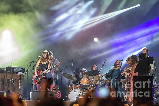 Feist at Canada Day, 2012 #4 by Robert McAlpine