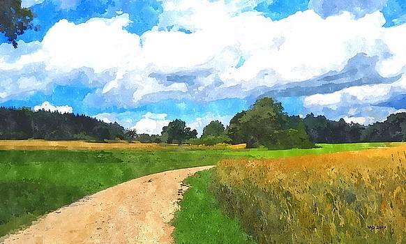 Felder 2 by Wolfgang Schweizer