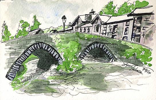 Beddgelert Bridge, Wales by Lynn Takacs