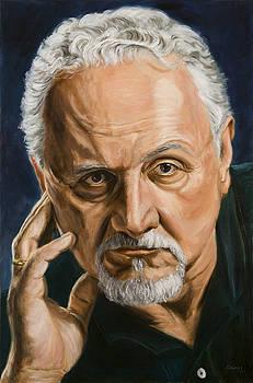 Felice Picano Portrait by Christopher Oakley