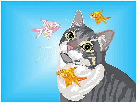 Feline Fantasy by Sarah Crumpler