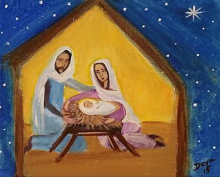 Feliz Navidad by Deyanira Harris