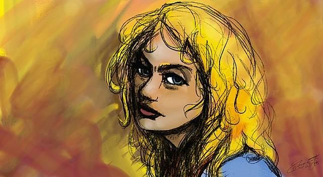 Felt Pen Sketch by Hannah Starrett Wright