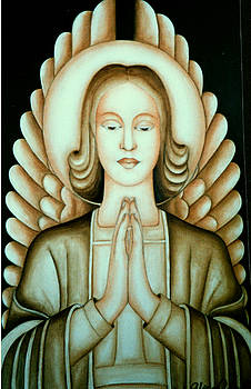 Female Angel by Alina Gorna