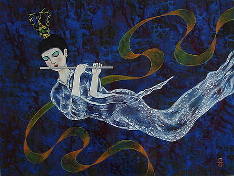 Female Angel by Silvia Gold