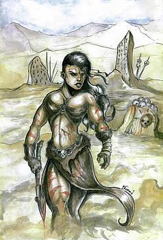 Female Barbarian by Bartek Blaszczec