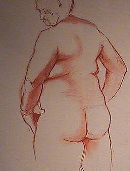 Female from behind by Kerry Burch