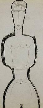 Amedeo Modigliani - Female Nude