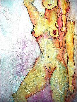 Female Nude by Lizzie  Johnson