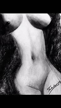 Female Torso by Thelma Delgado