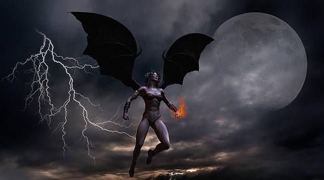 Female Vampire by Solomon Barroa