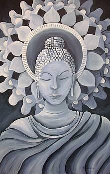 Feminine Buddha in a Peaceful Place by Nicole Werth