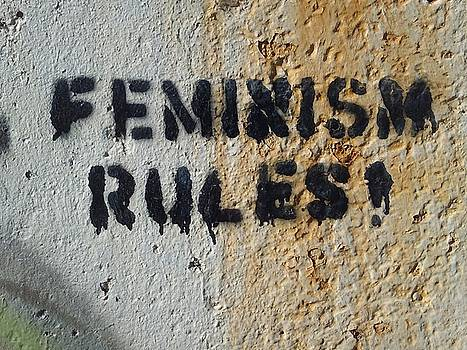 Feminism Rules by Michael Hoard