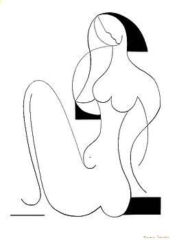 Femme fatale by Hildegarde Handsaeme