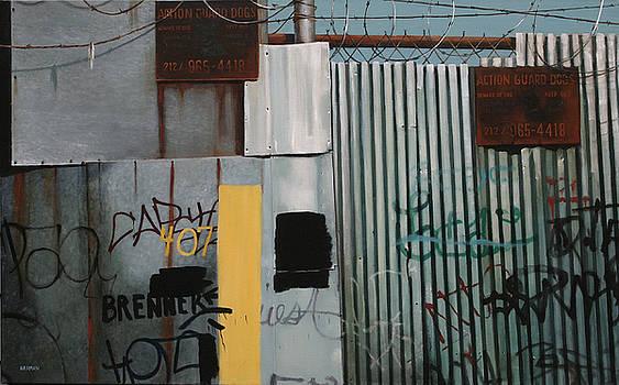 Fence by Mary Harman