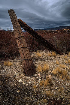 Rick Strobaugh - Fence Post and Storm