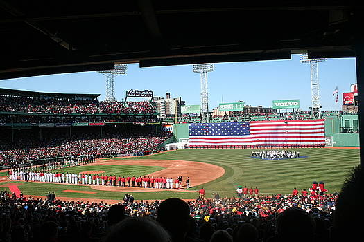 Fenway Patriotic by Stephen Melcher
