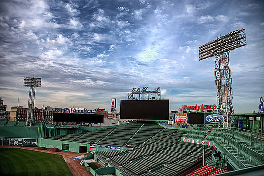 Fenway Stands by Joseph Caban