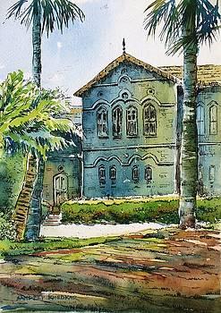 Fergusson College Main Building by Sandeep Khedkar