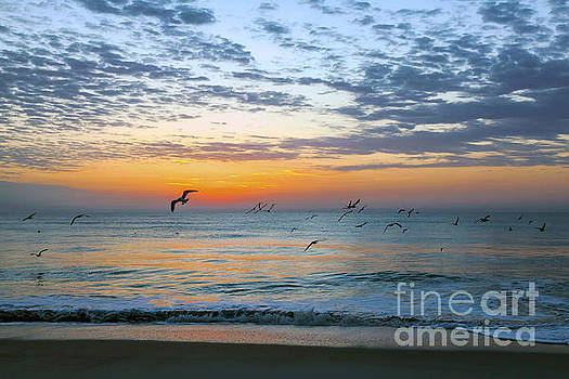 Fernandina Beach Sunrise by Lynn Palmer
