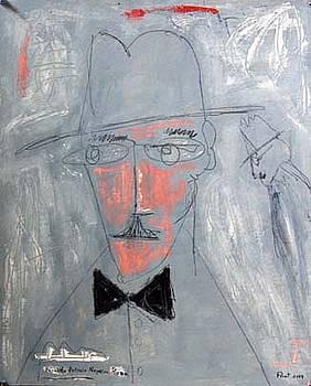 Fernando Pessoa by Jacob Porat