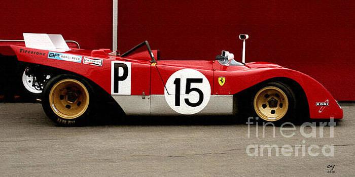 Ferrari 312 Profile 1971 by Curt Johnson