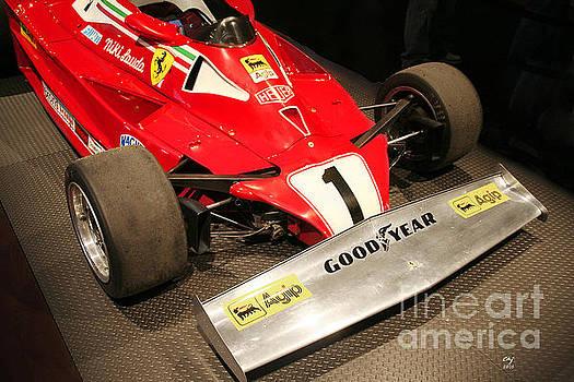 Ferrari 312 T2 F-1 Front Wing by Curt Johnson