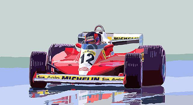 Ferrari 312 T3 1978 canadian GP by Yuriy  Shevchuk