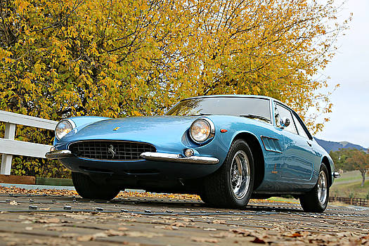 Ferrari 500 Superfast in blue by Steve Natale