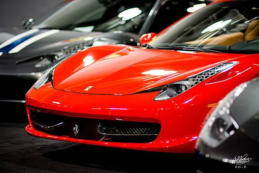 Ferrari by Adnan Bhatti