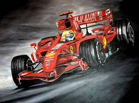 Ferrari F1 by Aaron Acker