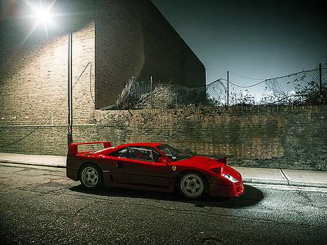 Ferrari F40 Lurking by George Williams