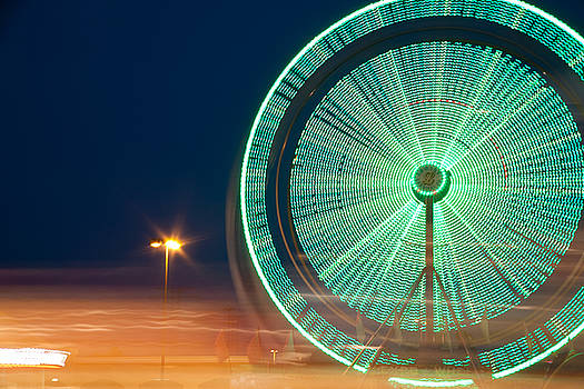 Ferris Wheel 2 by Mark Weaver