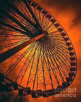 Ferris Wheel  by Art K
