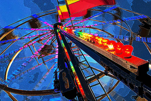Ferris wheel impression by Bill Jonscher