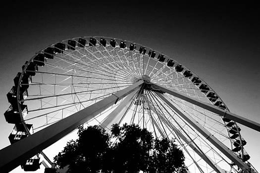 Ferris Wheel by Leslie Leda