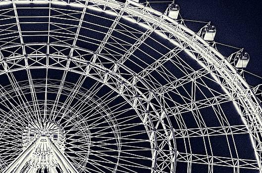 Ferris Wheel Noir by Nate Heldman