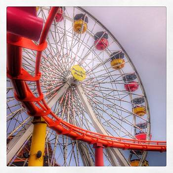 #ferriswheel #santamonicapier by Trek Kelly