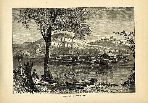 Ferry at Chattanooga by David Gardner