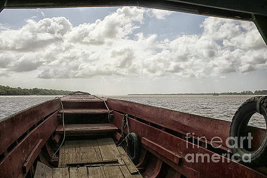 Patricia Hofmeester - Ferry boat on the suriname river