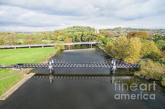 Ferry bridge Burton on Trent by Steev Stamford