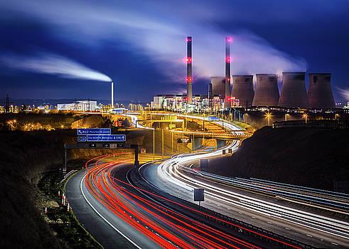 Ferry Bridge Power Station by Craig Wilkinson