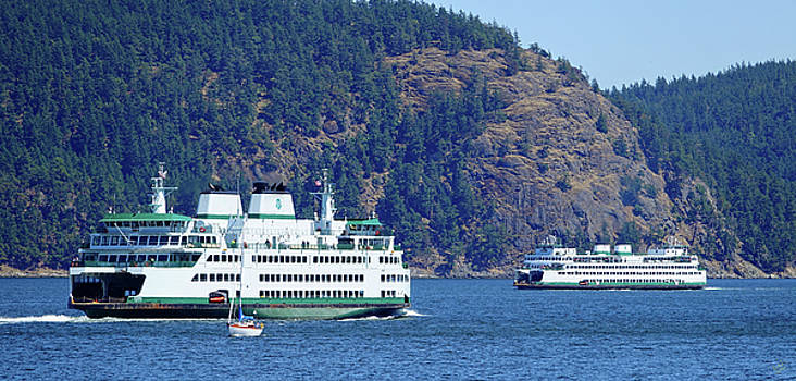 Ferry Meets Ferry by Rick Lawler
