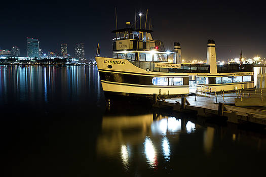Ferry to Broadway Pier by Nathan Rupert