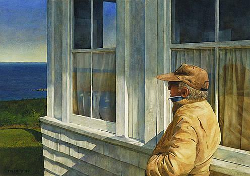 Ferry Watcher by Tyler Ryder